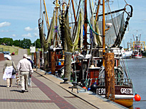 Shrimp Cutters in Greetsiel