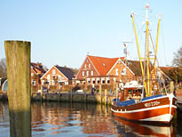Shrimp Cutter in Neuharlingersiel