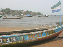 Fishing vessels in Sierra Leone